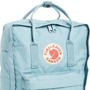 Fjallraven Kanken Backpack Light Blue